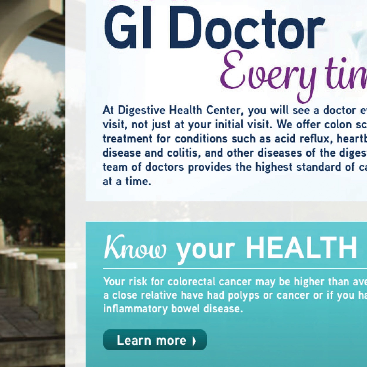 Digestive Health Website