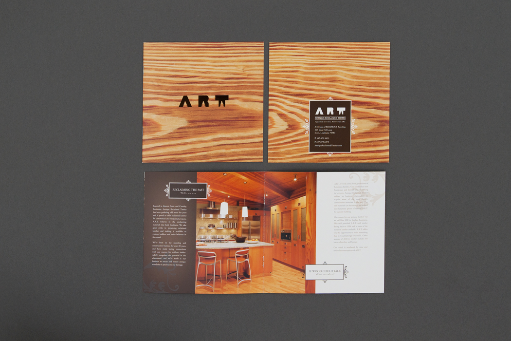 Antique Reclaimed Timber | Image Brochure portfolio