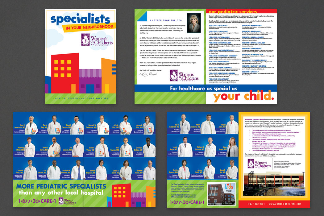 Women's & Children's Hospital | Specialists in Your Neighborhood portfolio