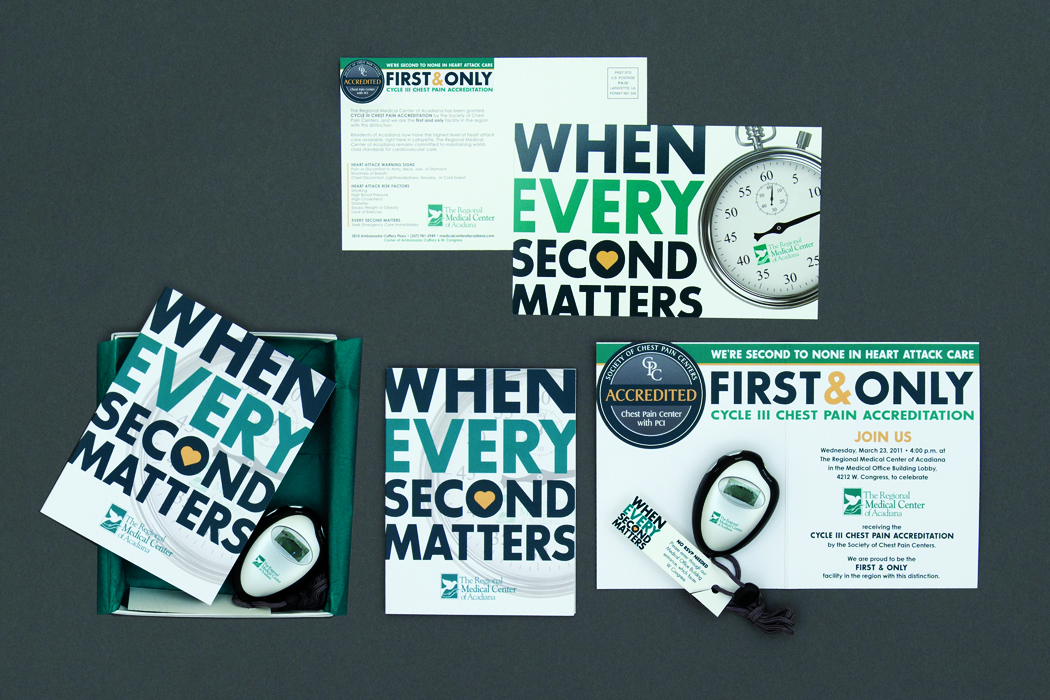 Regional Medical Center of Acadiana | When Every Second Matters Campaign portfolio