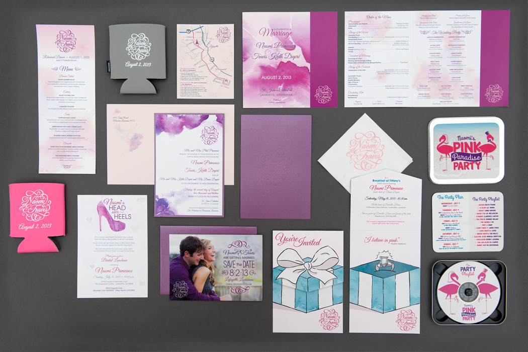 Dupre Wedding | Invitations & Materials portfolio
