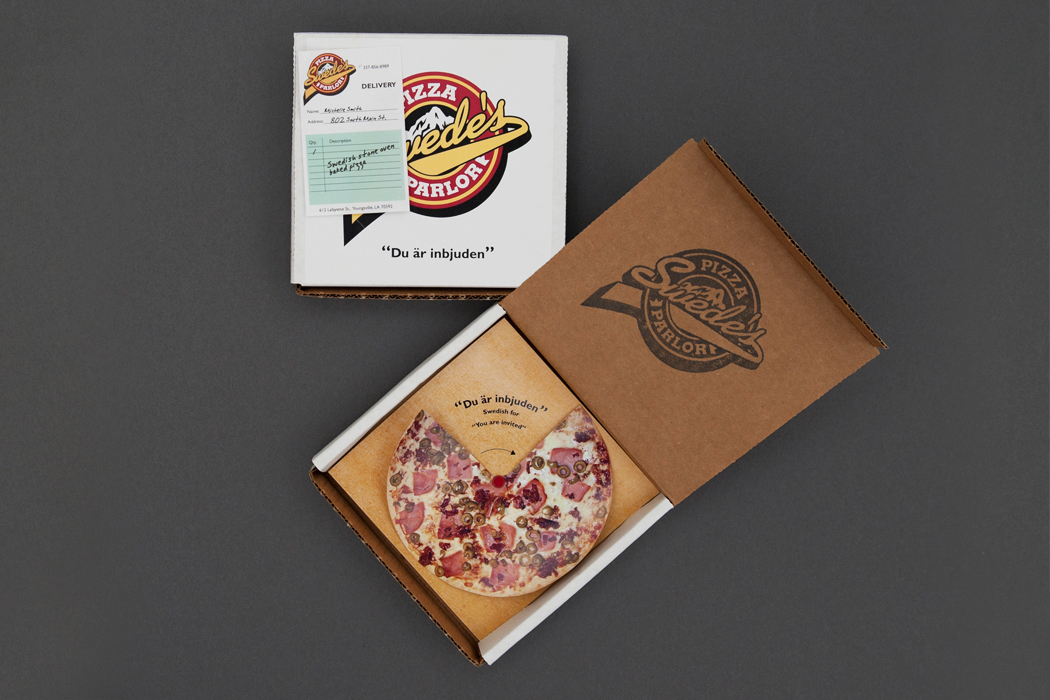 Swede's Pizza Parlor | Invitation portfolio
