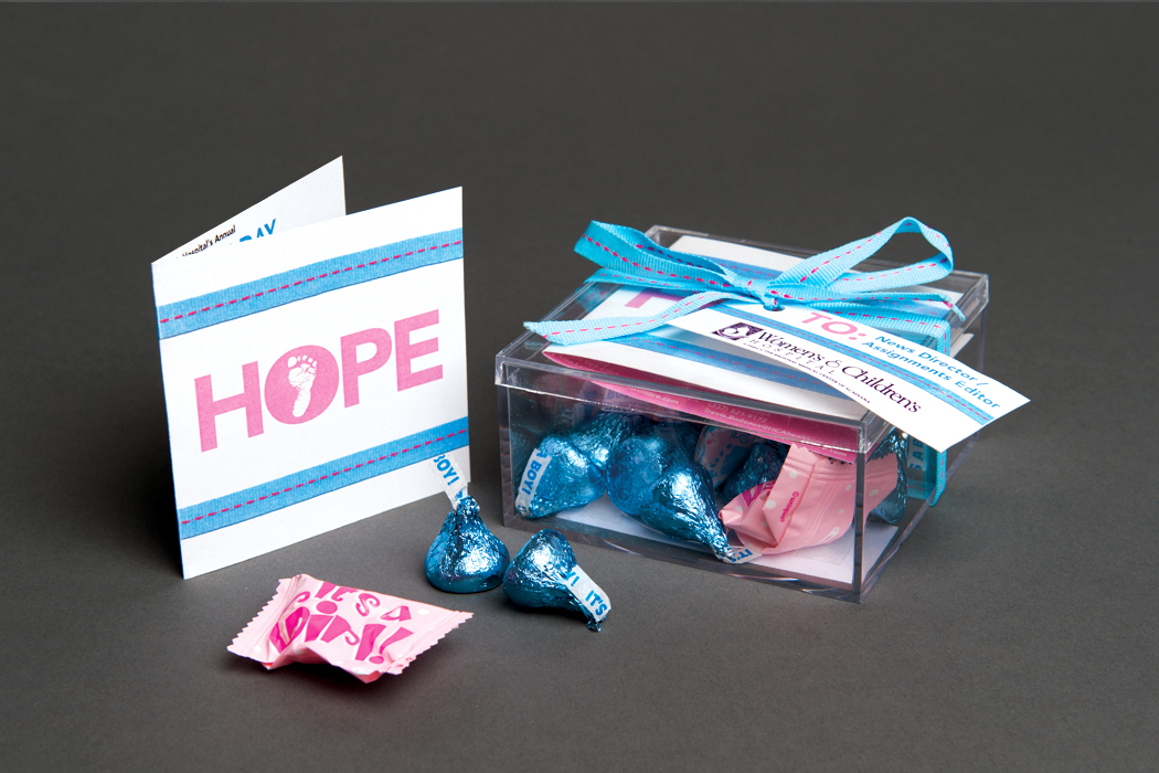 Women's & Children's Hospital | Gift of Hope Media Invitation portfolio