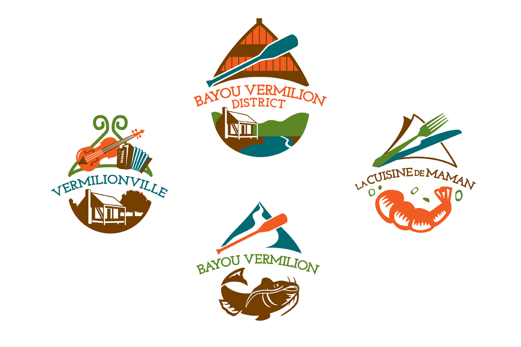 Bayou Vermilion District | Logo portfolio
