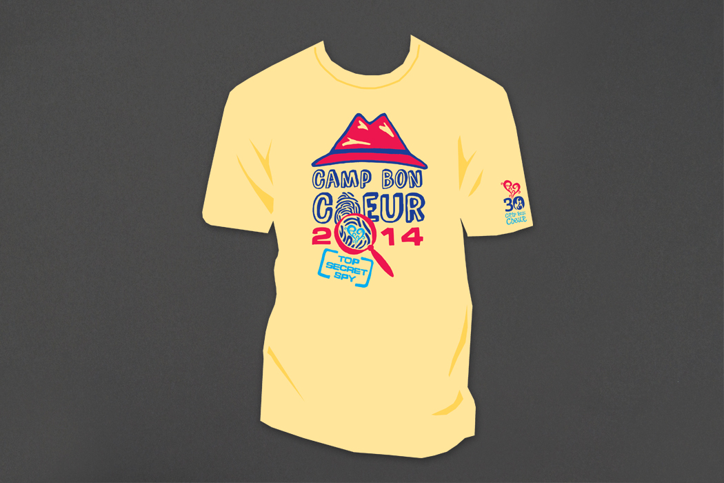 Camp Bon Coeur | Camp T-shirt 2014