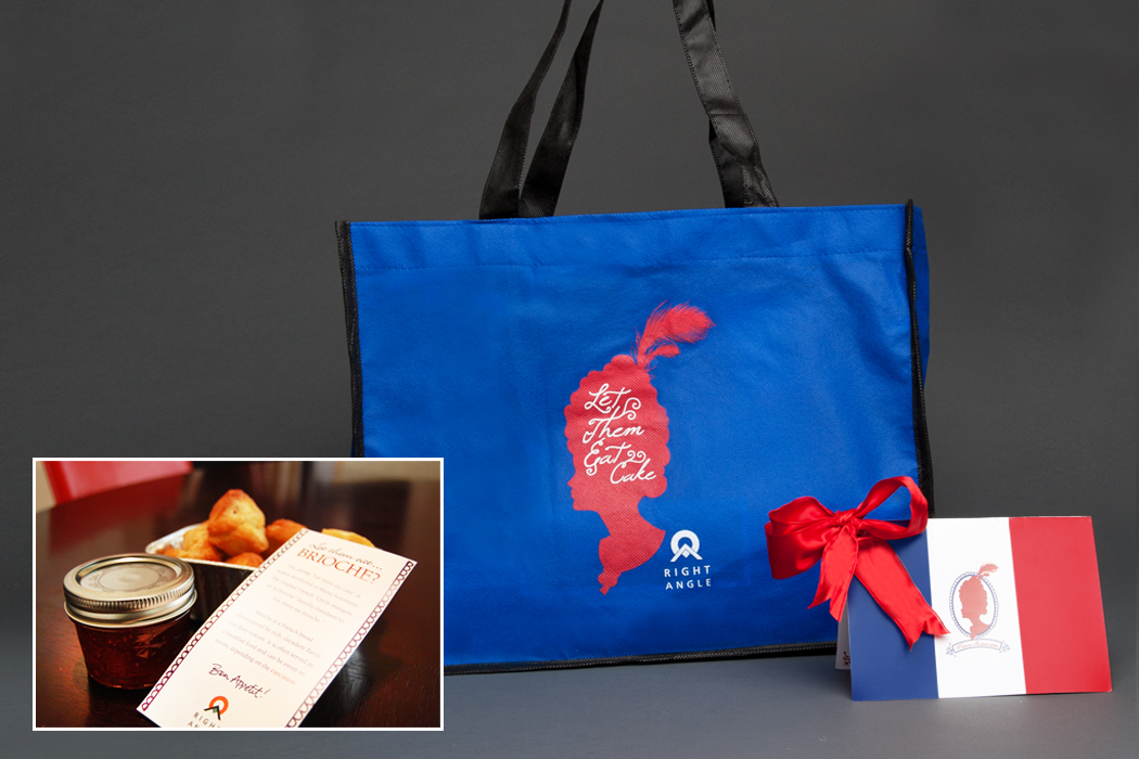 Right Angle | Bastille Day Client Appreciation Gift 2011