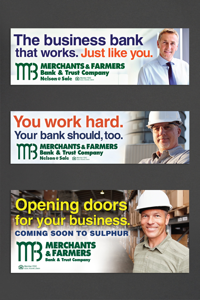Merchants & Farmers Bank | Outdoor Work portfolio