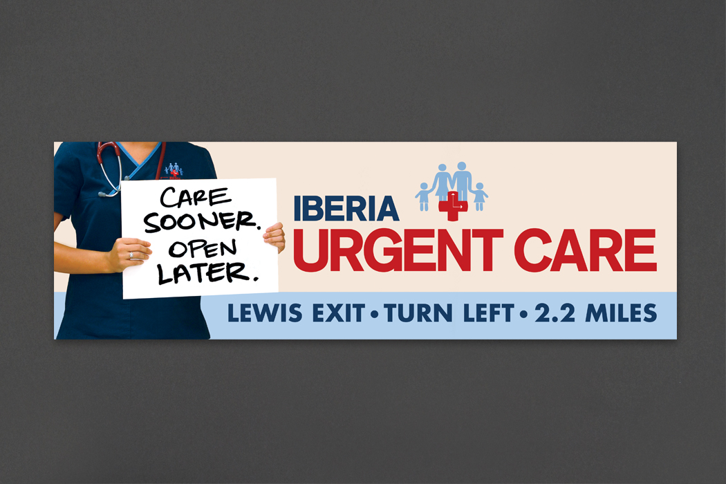 Iberia Urgent Care | Outdoor portfolio